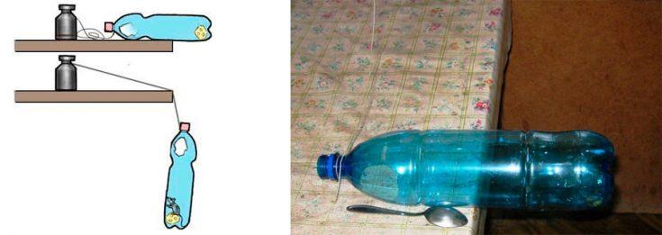 Применение пластиковой бутылки