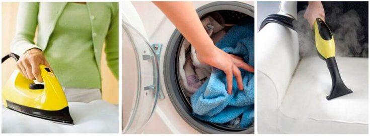 Обработка одежды и спального места