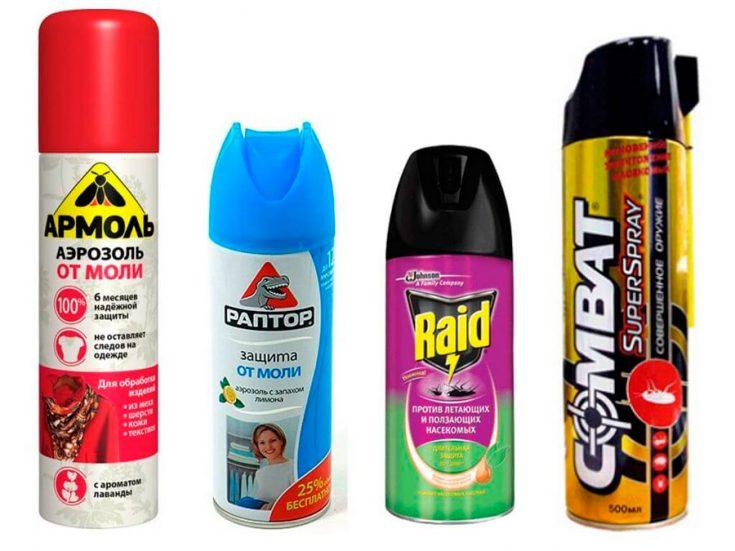 Применение химикатов