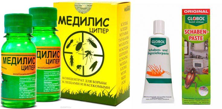 Применение инсектицидов