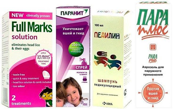 Аптечные препараты для борьбы с педикулезом